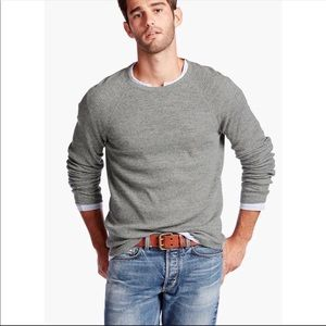 Lucky Brand 100% cotton crewneck thermal pulloverL